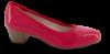 Jana Softline damepump rød 8-8-22360-23