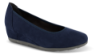 Jana Softline damepumps marineblå 8-8-22363-24