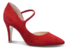 Caprice damepump rød 9-9-24402-22