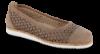 B&CO dameballerina lys brun
