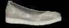 B&CO dameballerina sølvgrå