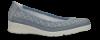 Nordic Softness damesko lyseblå