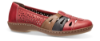 Rieker damesko rød 45856-33
