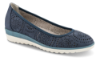 B&CO dameballerina marineblå 2411100150
