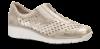 Rieker dame slip-in metallic beige 537F6-62