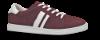 B&CO damesneaker burgunder