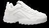 Duffy damesneaker hvit 84-01875