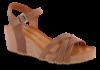 Tamaris damesandal brun 1-1-28342-24