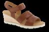Gabor damesandal brun 45752
