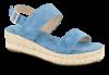 B&CO damesandal blå kombi 4211102152