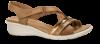 ECCO damesandal brun/bronze 216513 FELICIA S