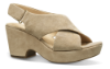 Clarks dame sandal sand 26140120