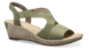 Rieker damesandal olivengrønn 62429-54