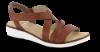 Rieker damesandal brun 63663-24