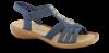 Rieker damesandal marineblå 60800-14