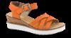 Rieker Damesandal Orange V3863-38=V0222-3