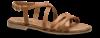 Mentor damesandal lysebrun W7933/34