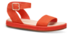 Clarks dame sandal oransje 26141349