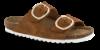 B&CO damesandal slip-in brun 4411100330