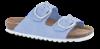 B&CO damesandal slip-in blå 4411100350