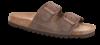 B&CO damesandal mørkebrun