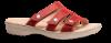 Nordic Softness damesandal rød