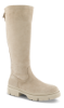 Tamaris Kraftige damestøvletter Beige 1-1-25622-27