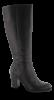 B&CO Lange damestøvletter Sort 5230500410