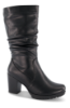B&CO Lange damestøvletter Sort 5230500510