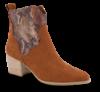 Marco Tozzi kort damestøvlett brun 2-2-25353-34
