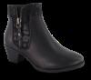 B&CO kort damestøvlett sort 5250501610