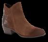 Marco Tozzi kort damestøvlett brun 2-2-25057-25
