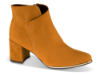 Marco Tozzi kort damestøvlett sennepsgul 2-2-25095-35