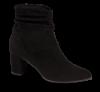 Marco Tozzi kort damestøvlett sort 2-2-25307-33