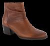 Gabor kort damestøvlett brun 5283352