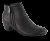 Rieker kort damestøvlett sort 70551-00