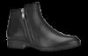 Caprice kort damestøvlett sort 9-9-25315-21
