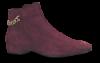 Vagabond kort damestøvlett burgunder 4616-140