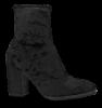 Caprice kort damestøvlett sort 9-9-25306-21
