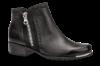 Caprice kort damestøvlett sort 9-9-25403-23