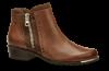 Caprice kort damestøvlett konjakkfarget 9-9-25403-23