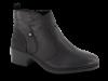 Rieker kort damestøvlett sort 77650-00