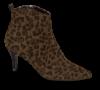 Marco Tozzi kort damestøvlett leopard 2-2-25338-23