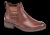 Tamaris kort dame støvlett brun 1-1-25012-23