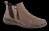 Nordic Softness kort damestøvlett gråbrun 5260560132