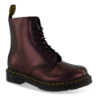 Dr. Martens kort damestøvlett blomme metallic 26233602