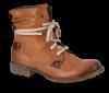 Rieker kort damestøvlett brun 70820-24