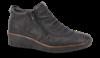 Rieker kort damestøvlett sort 53742-00