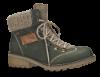 Rieker kort damestøvlett grøn Z0444-54