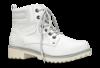 Marco Tozzi kort damestøvlett offwhite 2-2-26272-21